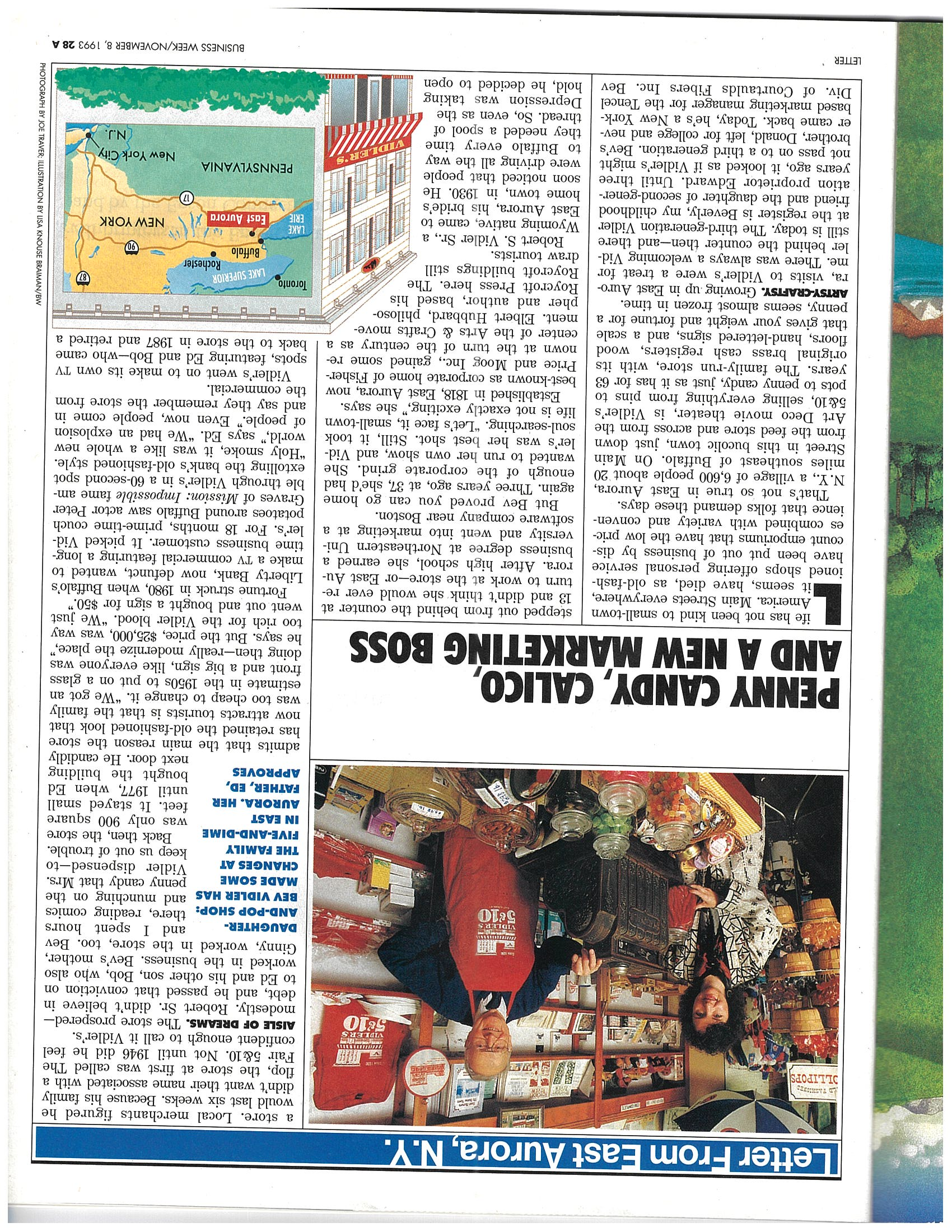 Store gets national recognition with stories in Business Week and Martha Stewart's Living