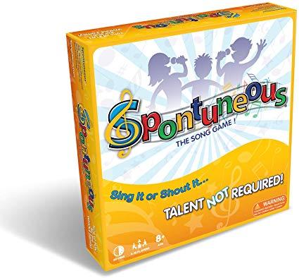 spontuneus board game