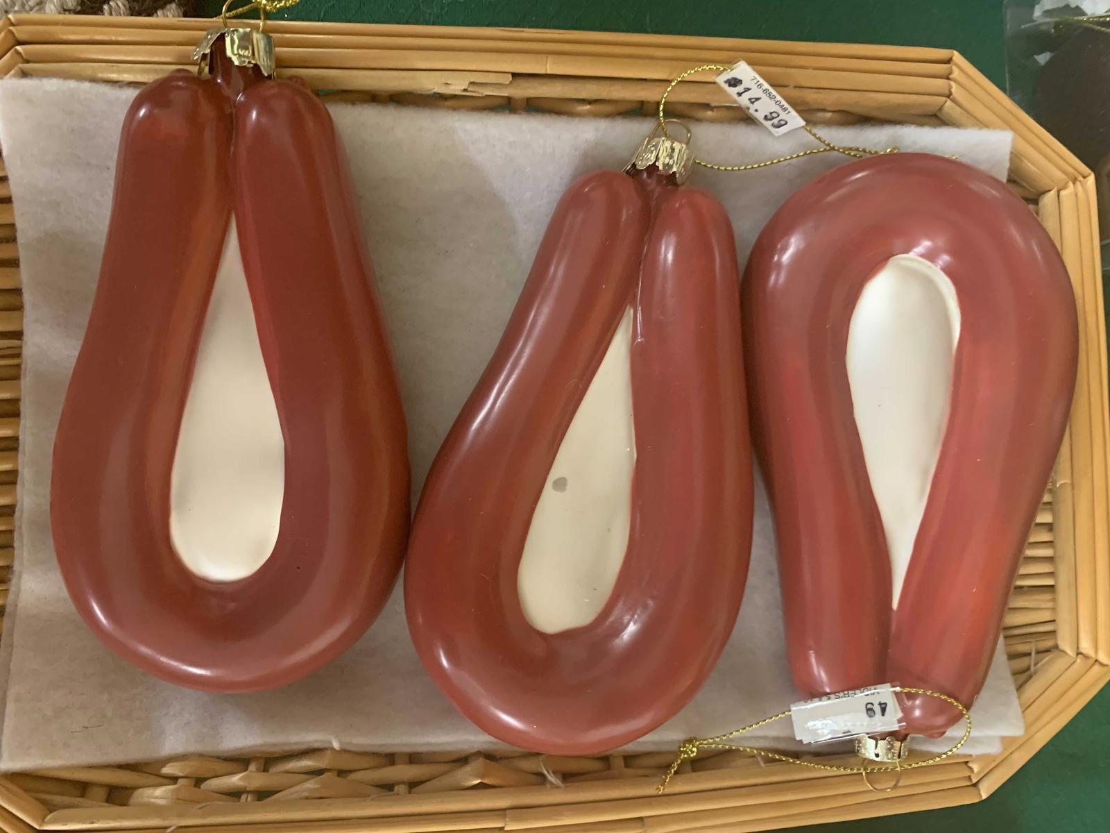 kielbasa sausage Ornaments