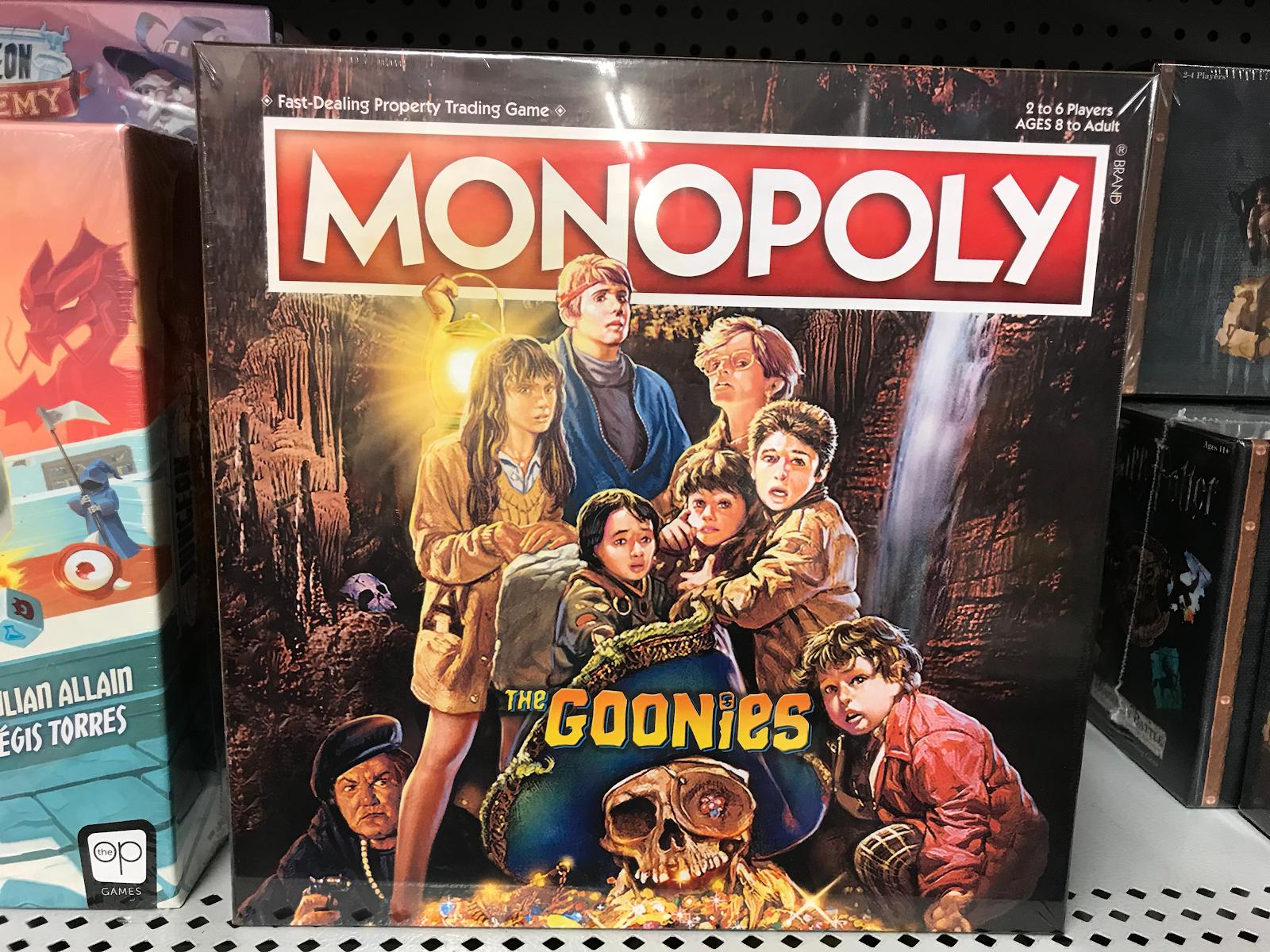 the goonies monopoly