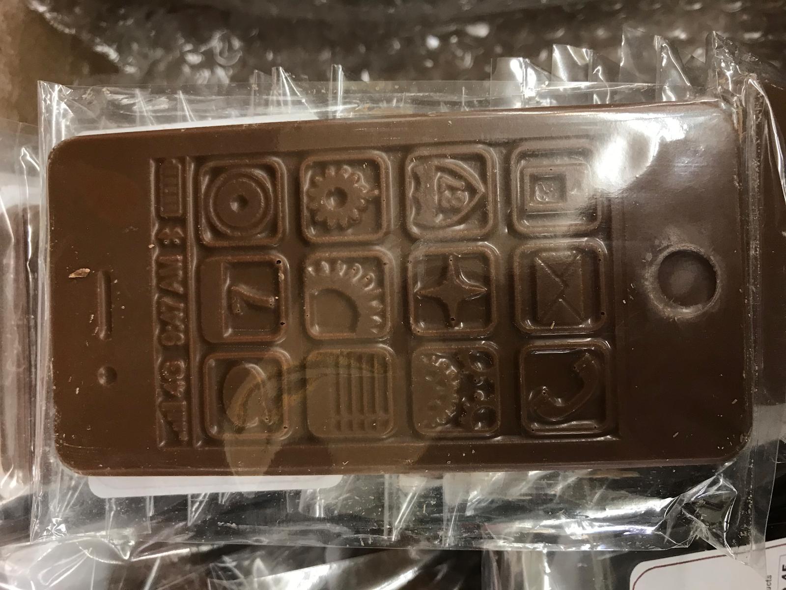 Chocolate iphone