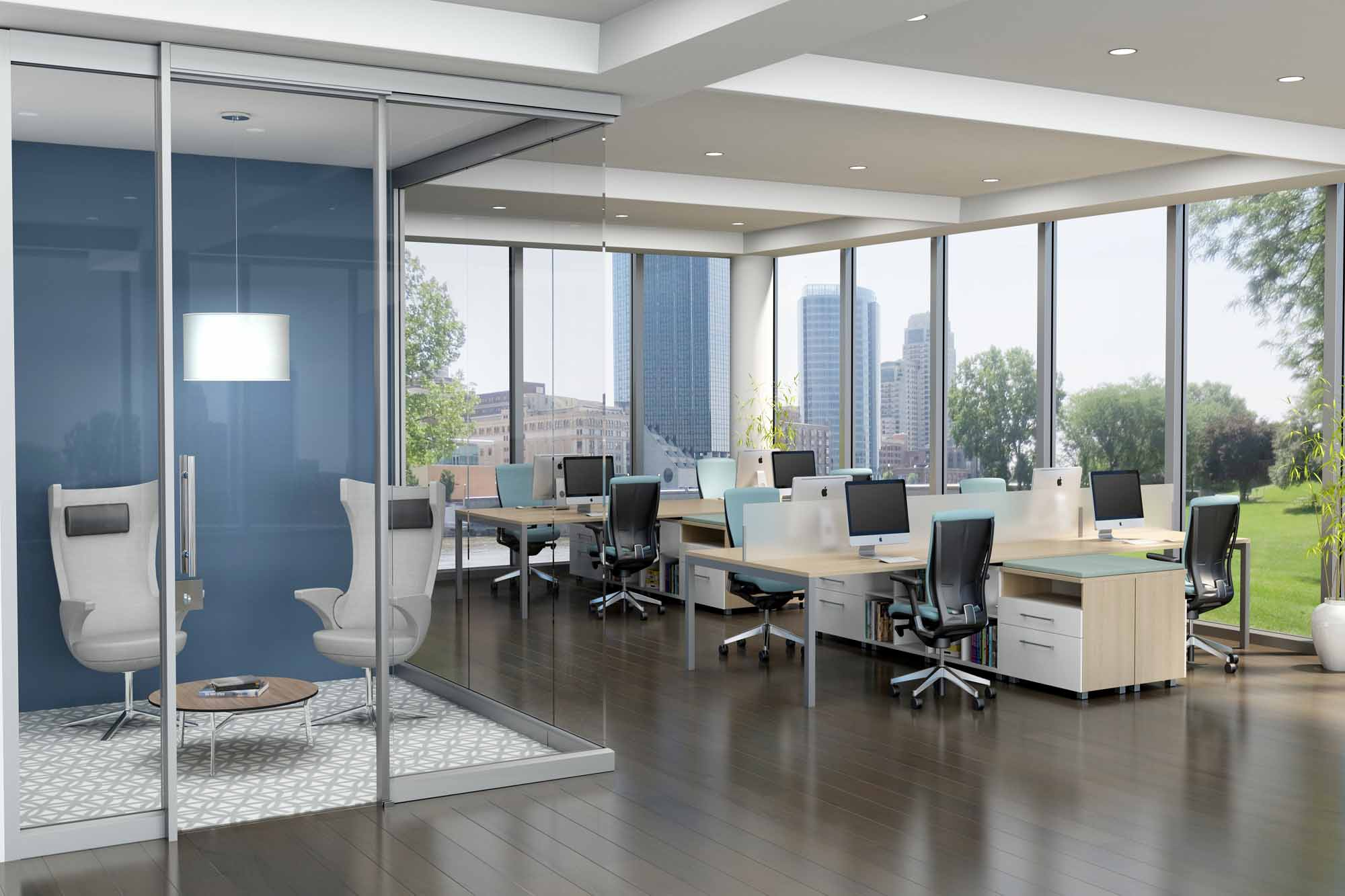 From workstations to demountable walls, conference and training tables to lounge and task seating, Trendway is the one-stop shop for all your office furniture needs.