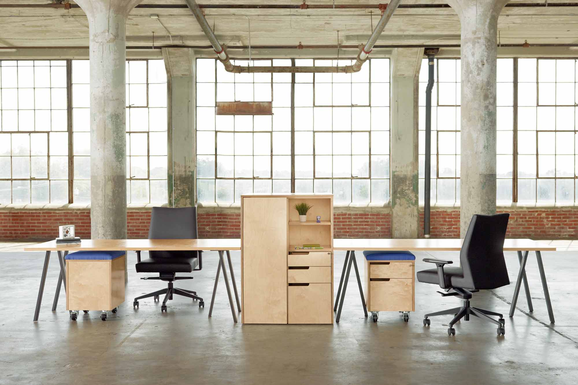 Tables are keeping up with the demand in today's plugged-in, mobile workplaces.