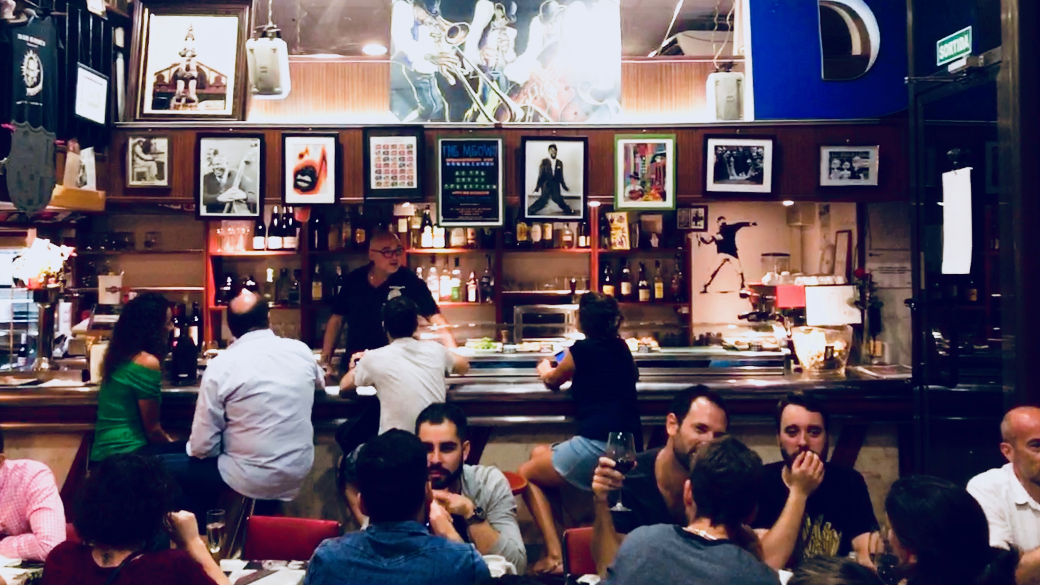 Bar Ramon in Sant Antoni, Barcelona.