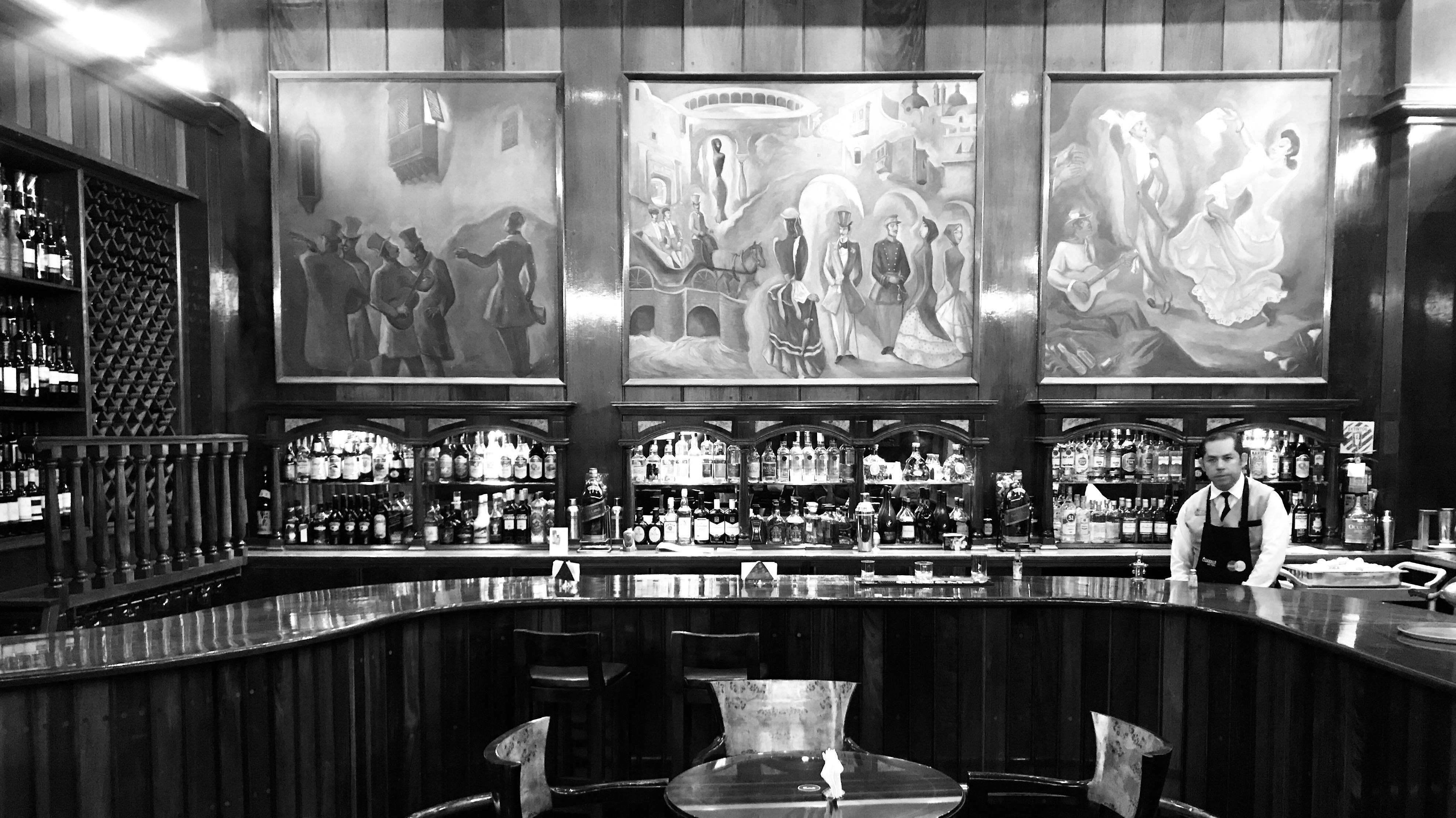 Bar Maury in Lima, Peru.