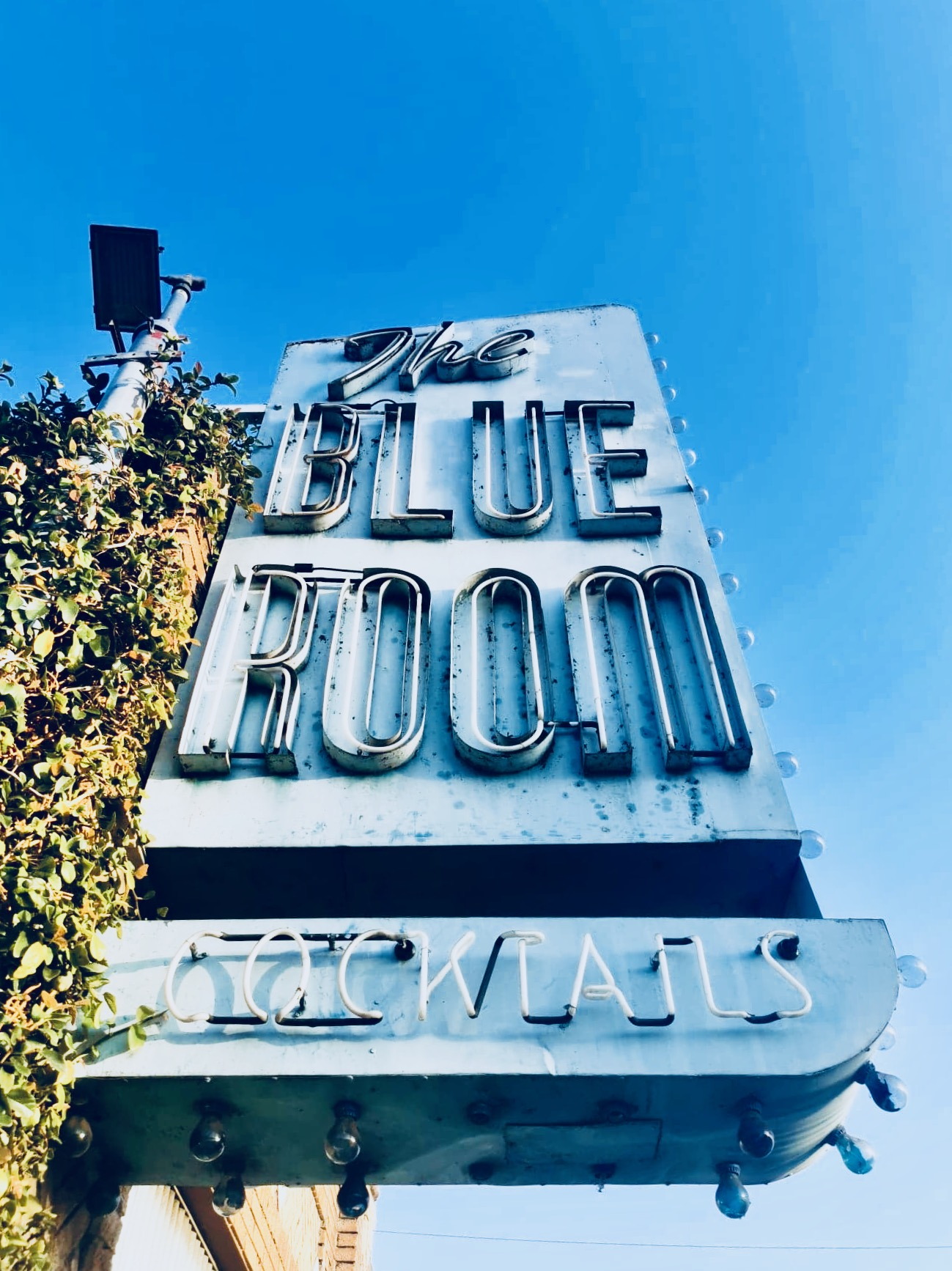 Outside The Blue Room, Burbank.