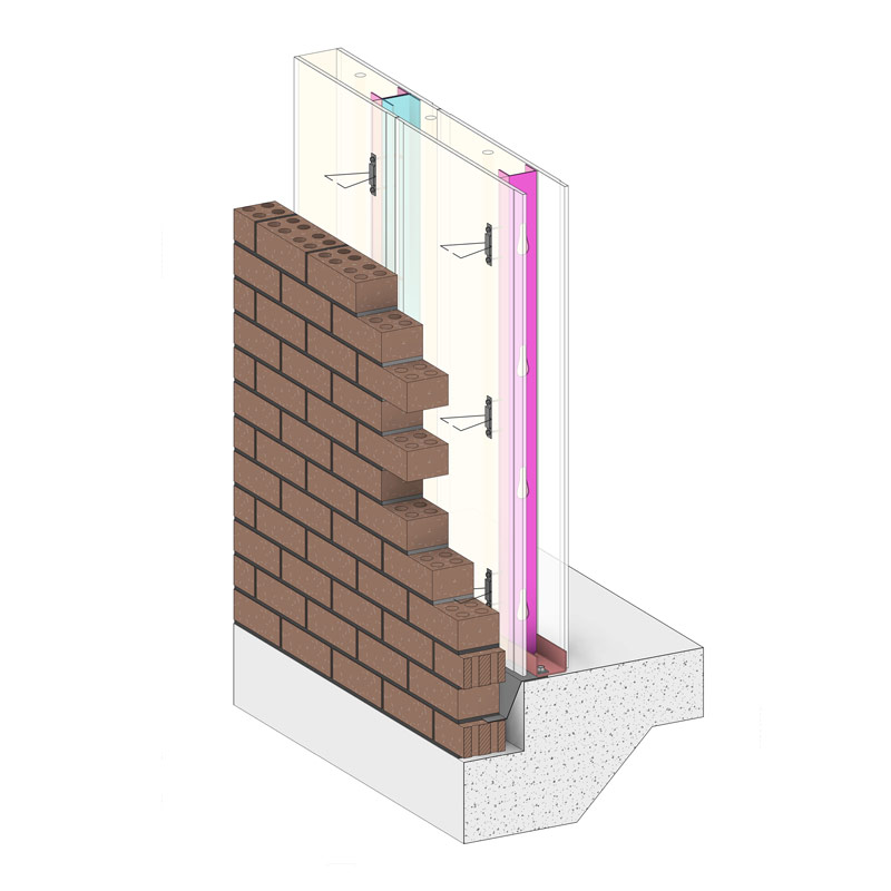 Pro9 Global thermally insulated steel-framed low-cost wall systems