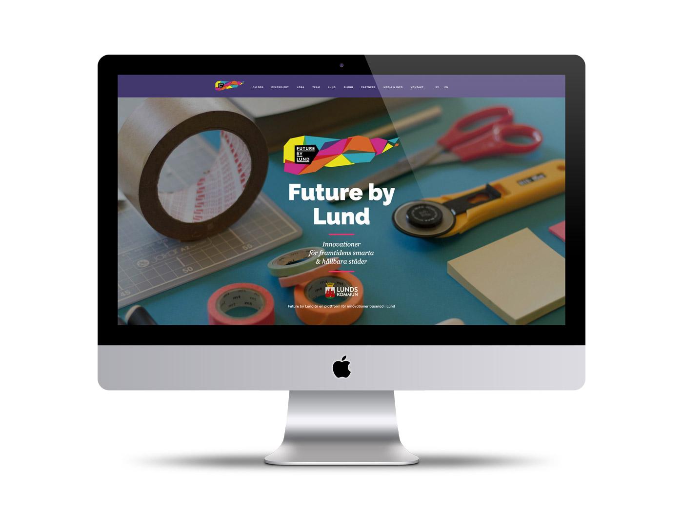 Future by Lunds hemsida och webbdesign