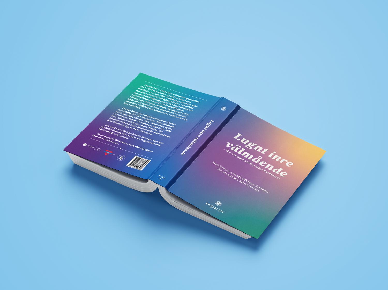 Projekt Livs bok Lugnt inre välmående - Omslag