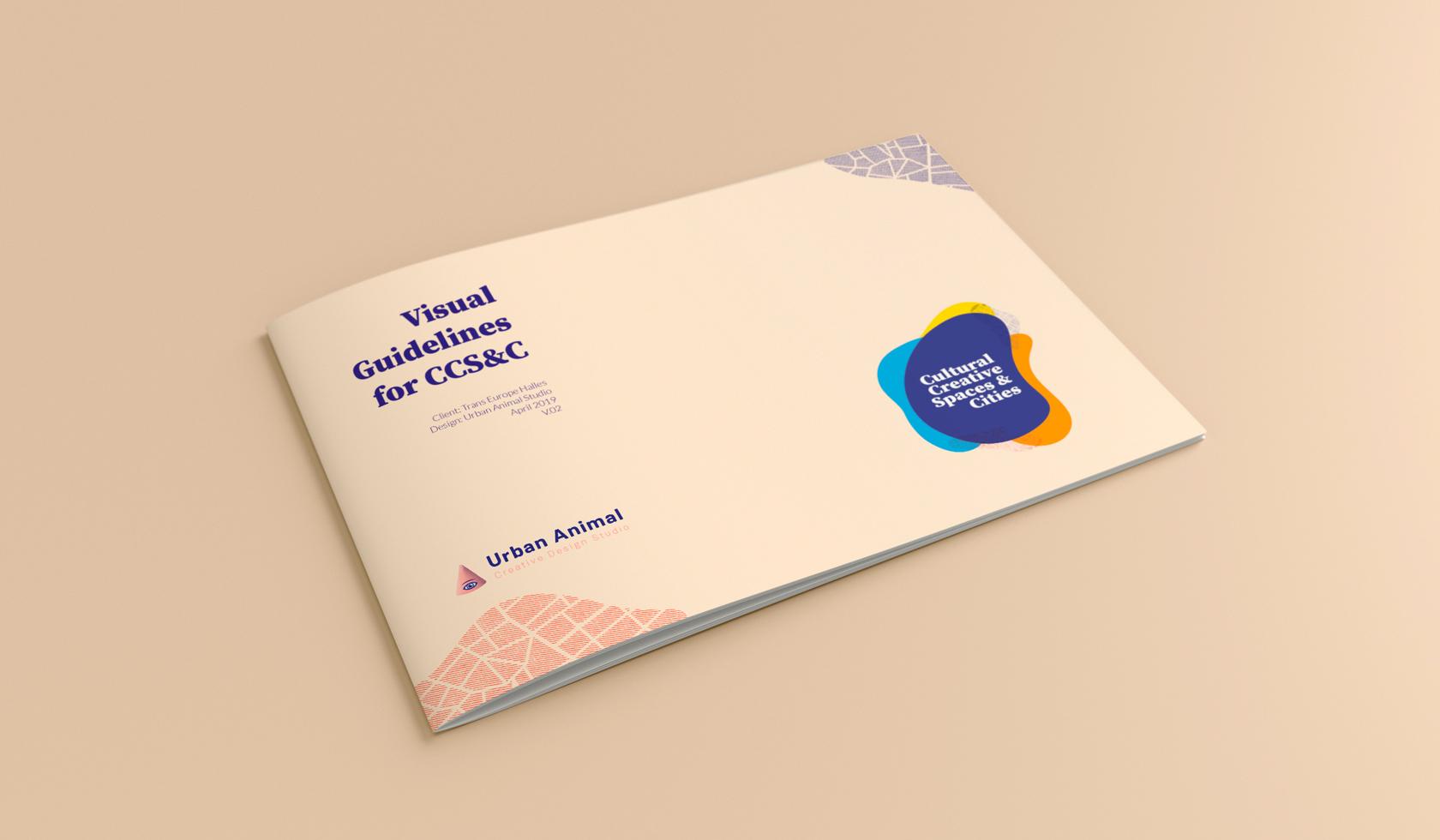 Cultural Creative Spaces & Cities grafiska profil och manual