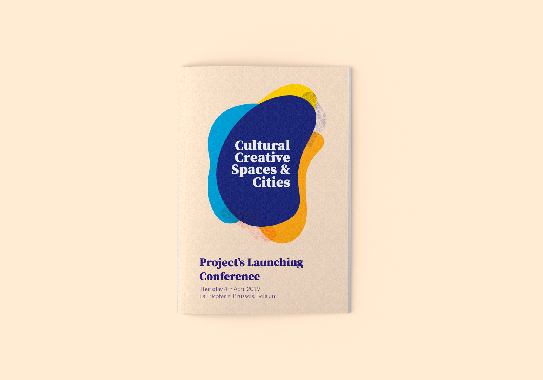 Cultural Creative Spaces & Cities konferensbroschyr