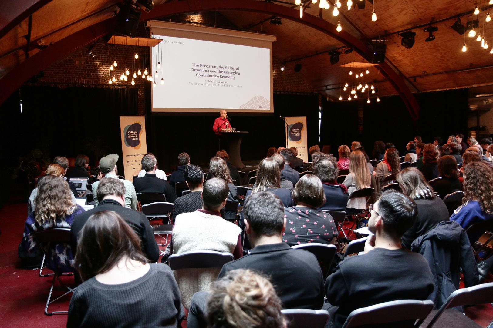 Bilder från Cultural Creative Spaces & Cities konferens