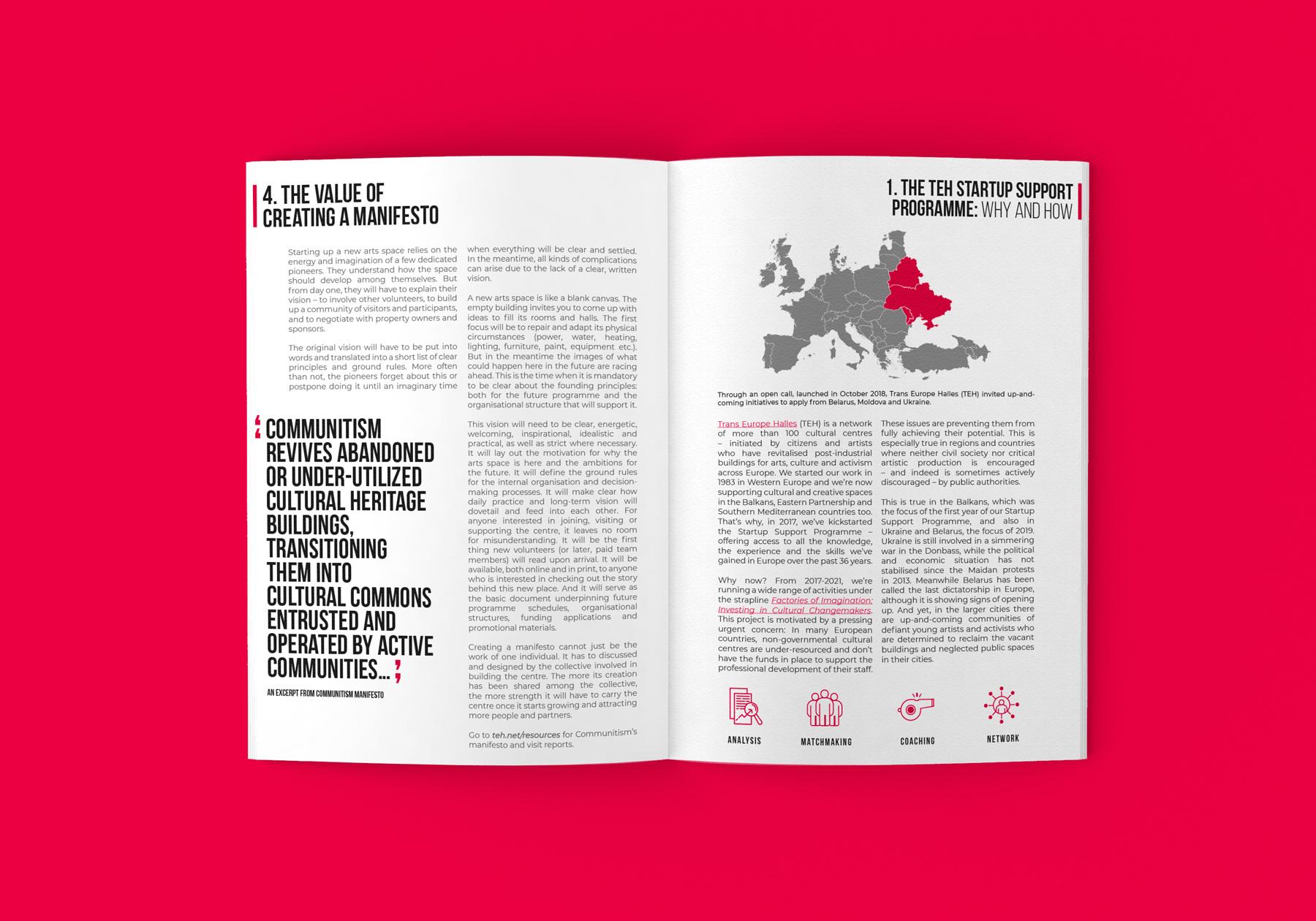 Uppslag från publikationer för Trans Europe Halles