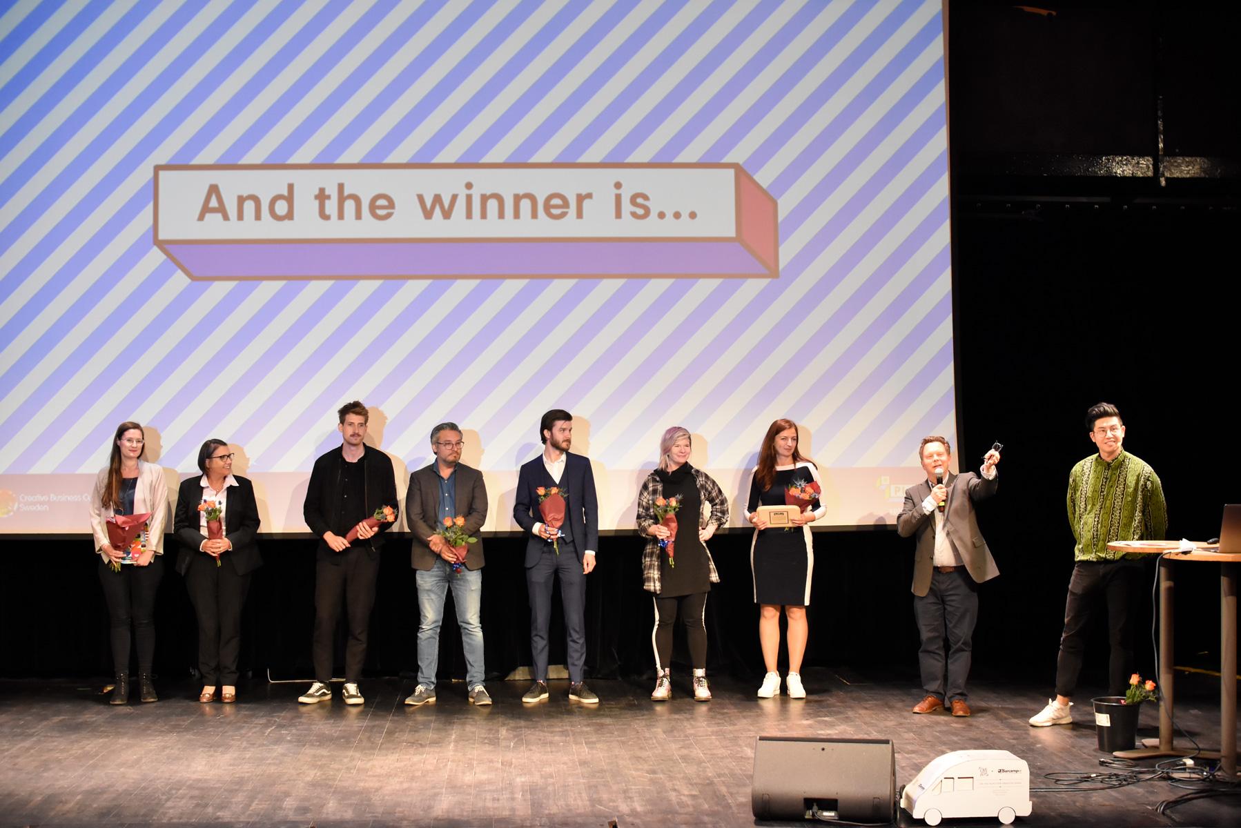 Bilder från Svenska finalen för Creative Business Cup