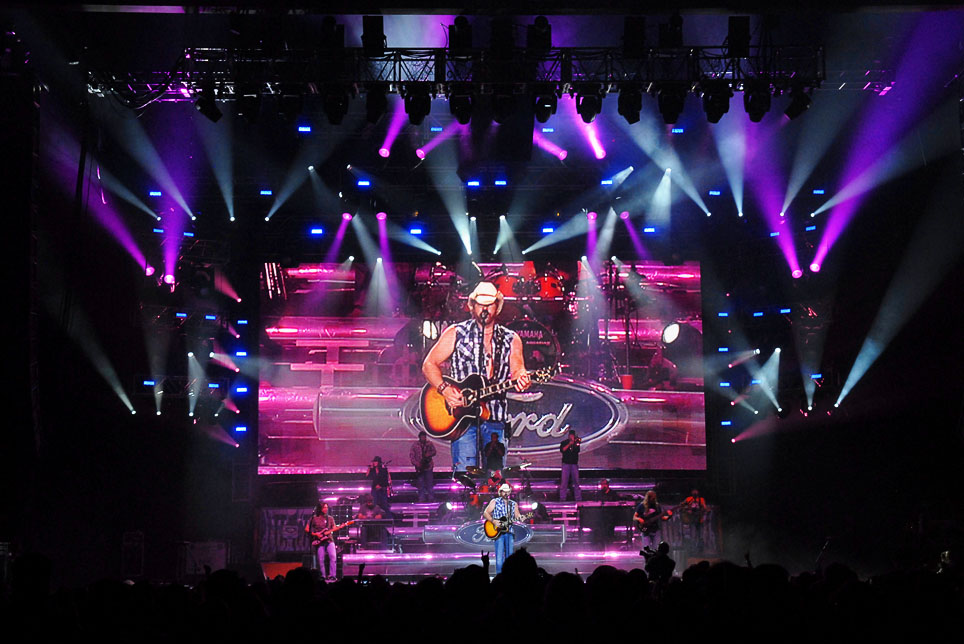 Toby Keith Biggest and Baddest Tour
