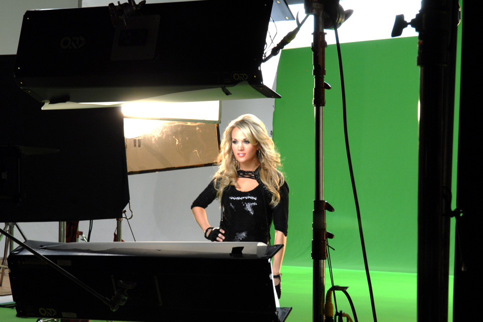 Carrie Underwood Video Production