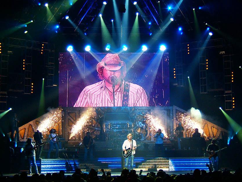 Toby Keith Big Throwdown II Tour