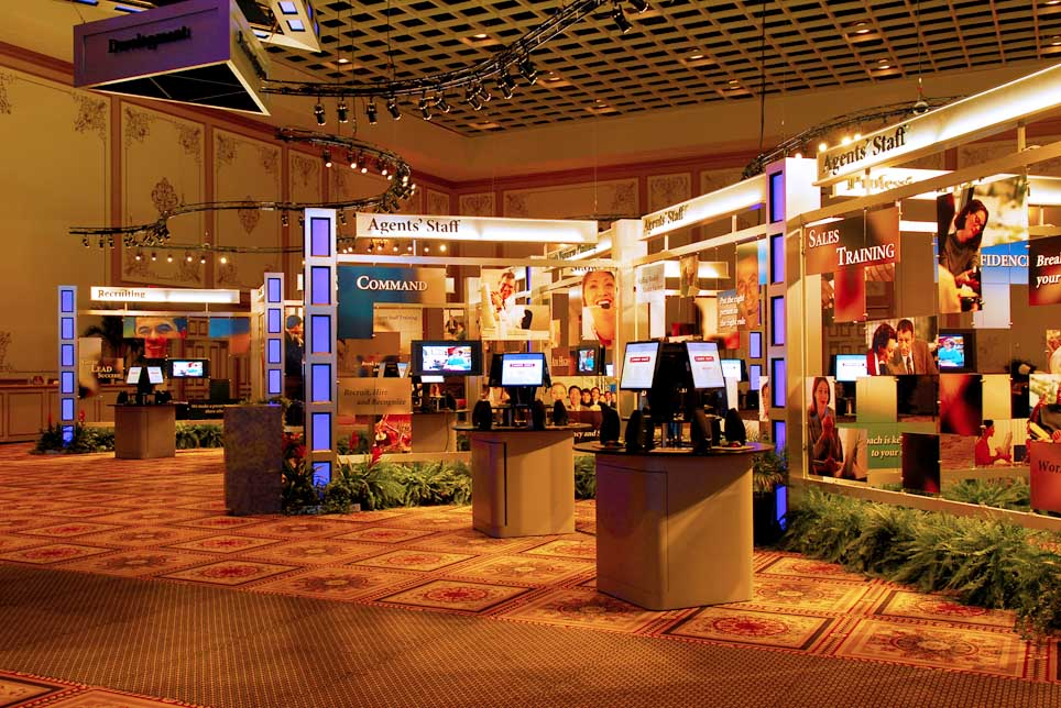 Corporate Convention Booths