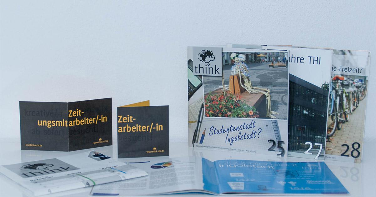 """Studentenzeitung """"think"""""""