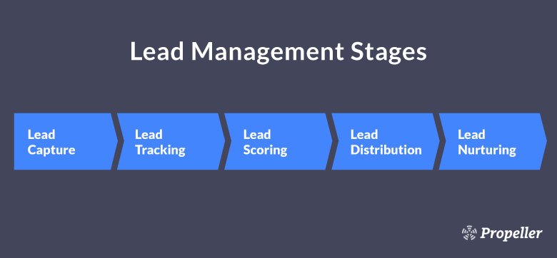 The Stages of a Typical Sales Lead Management System