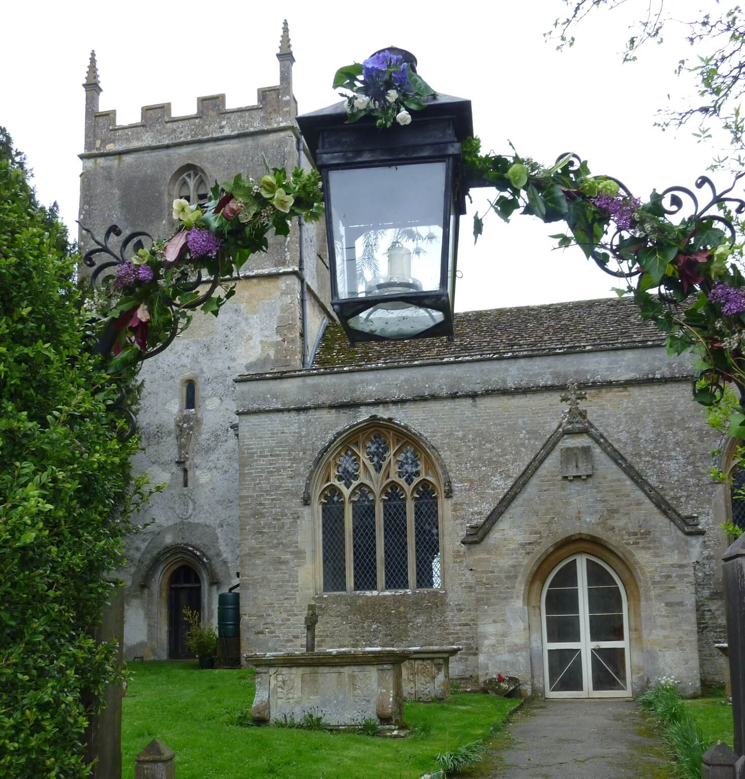 St Mary's Church Beverston - Outside