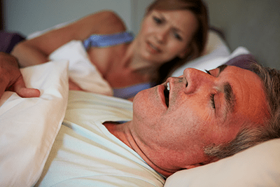 Snoring can disturb your partner's rest as well as your own