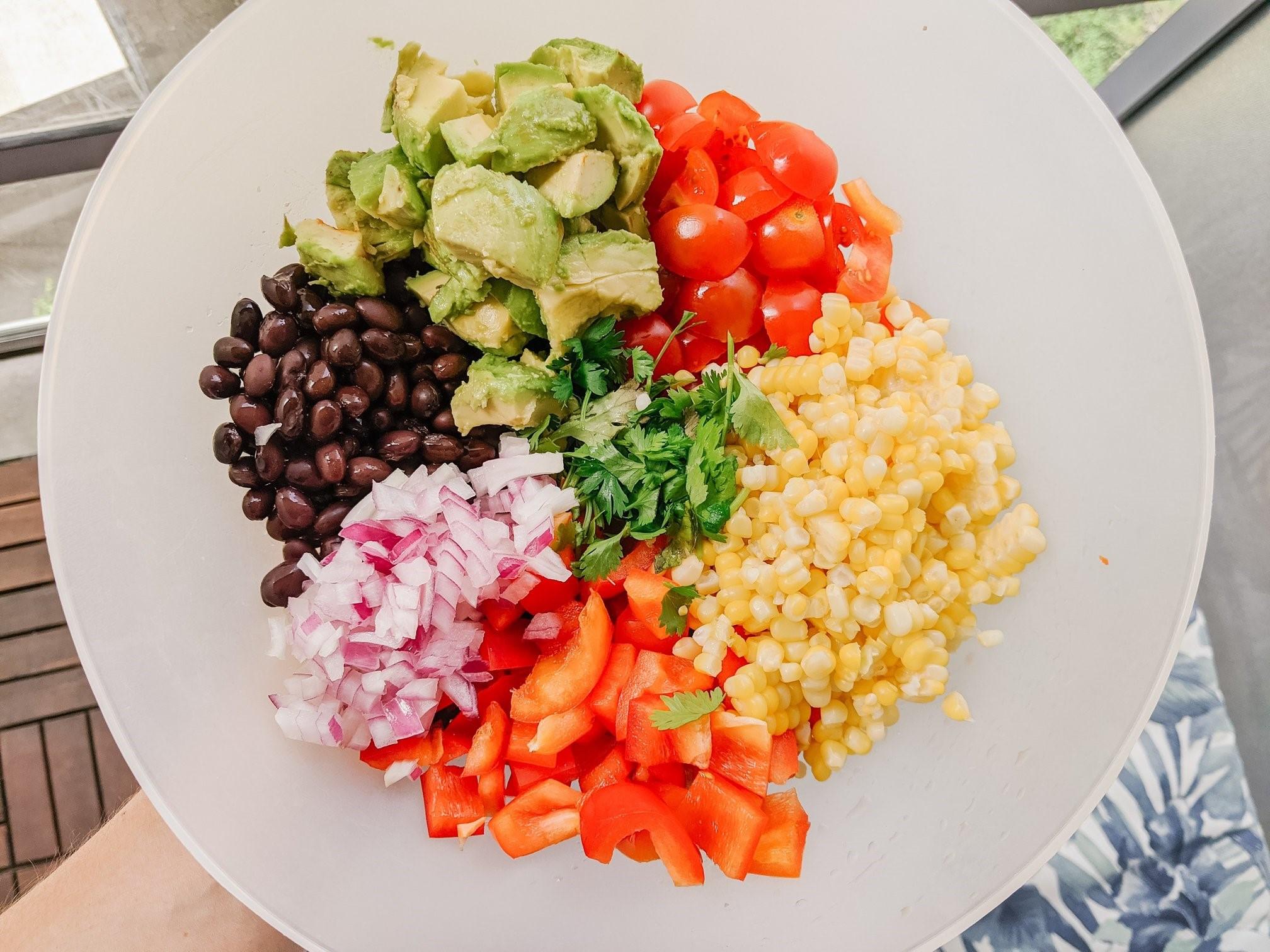 Black Bean & Corn Summery Salad