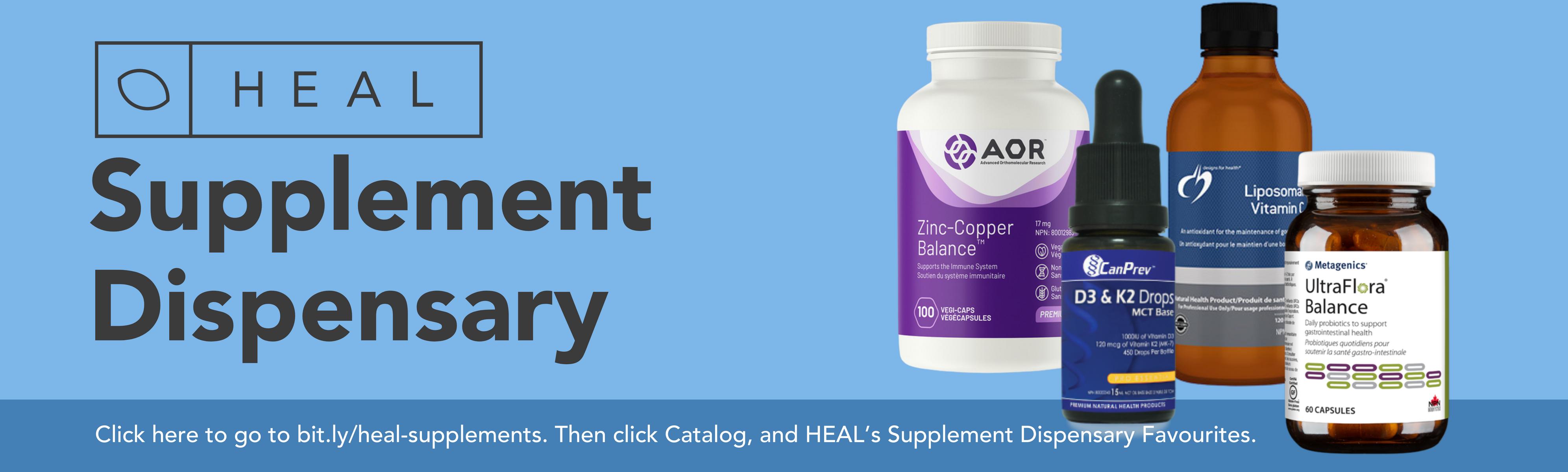 HEAL Supplement Dispensary
