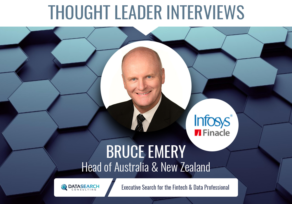 Datasearch Consulting interviews Bruce Emery, Finacle Head