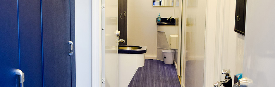 Mobile Showers Interior