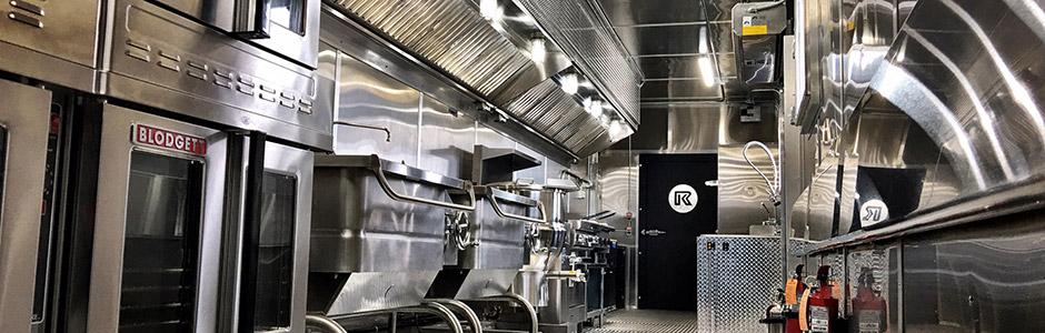 Mobile Kitchen Interior