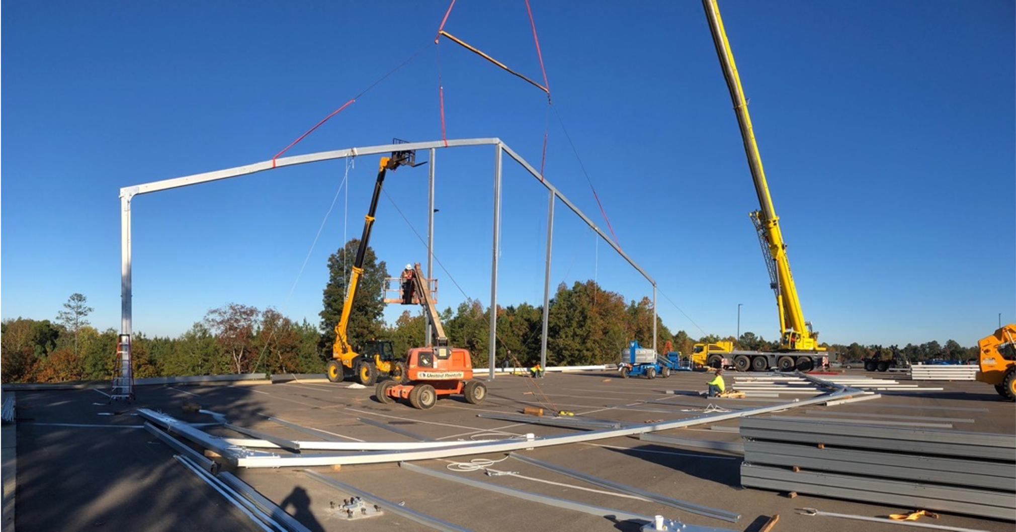 Temporary Structure Construction