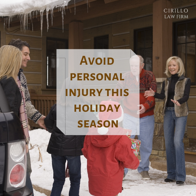 Things that can make you meet personal injury lawyer during holidays