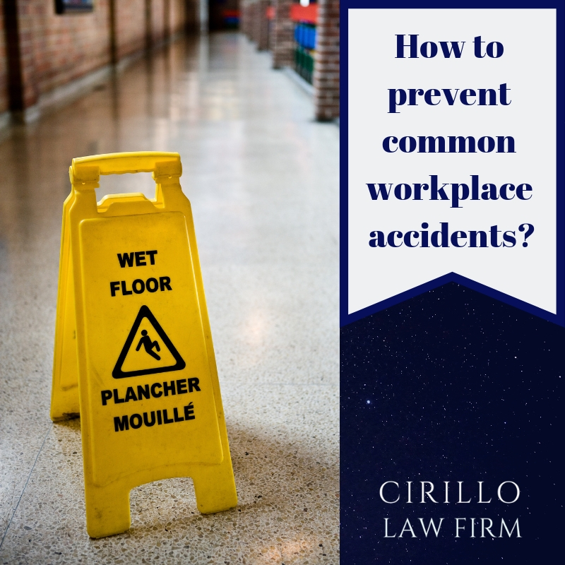 5 common workplace accidents and ways to prevent them