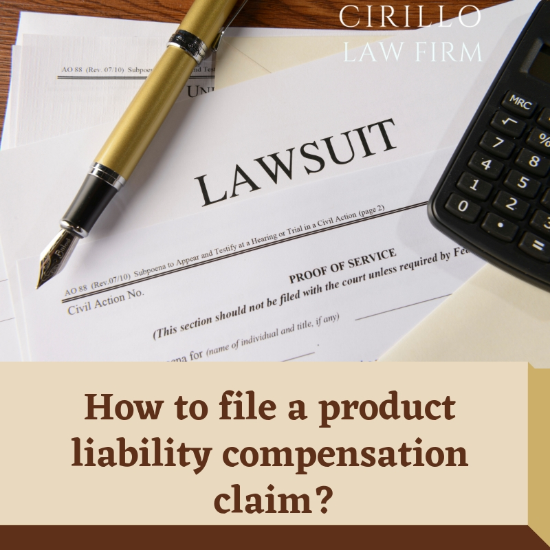Product Liability Claims: Everything you should know about