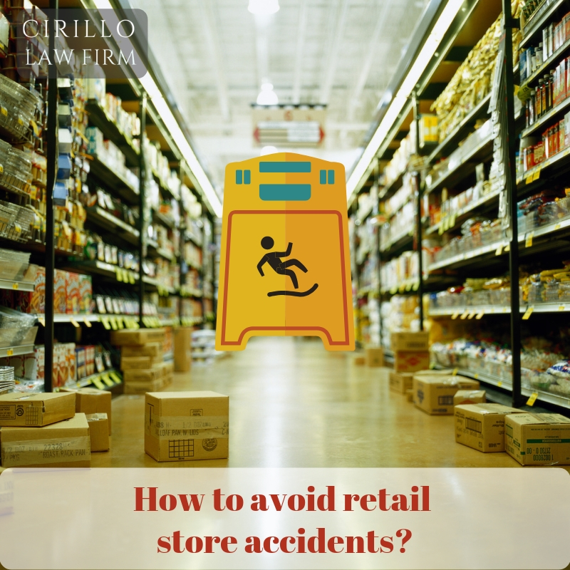 A key consideration to avoid accidents at your retail store