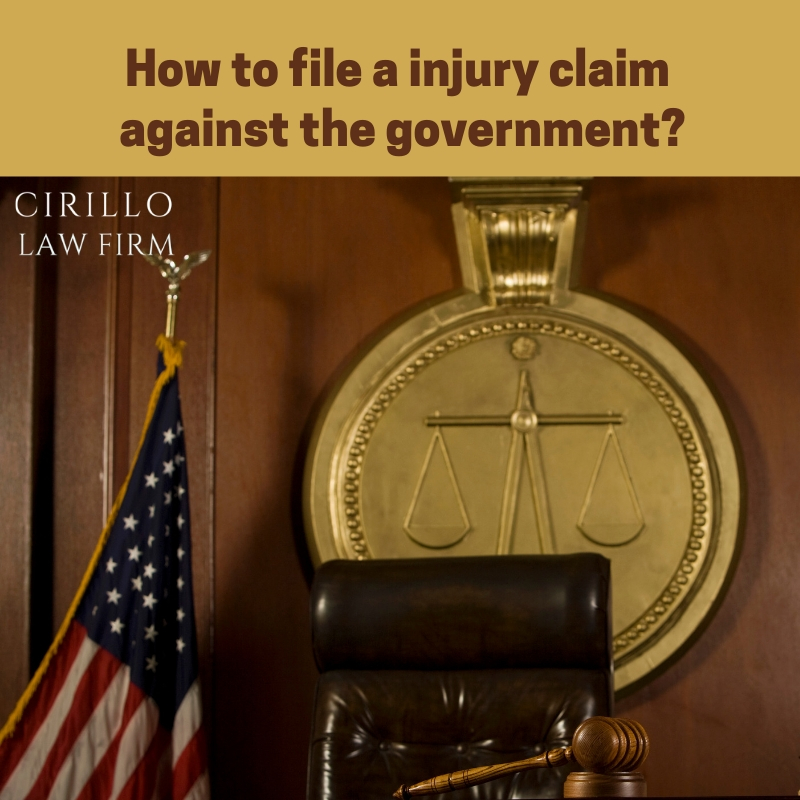 What you should know about injury claims against the government