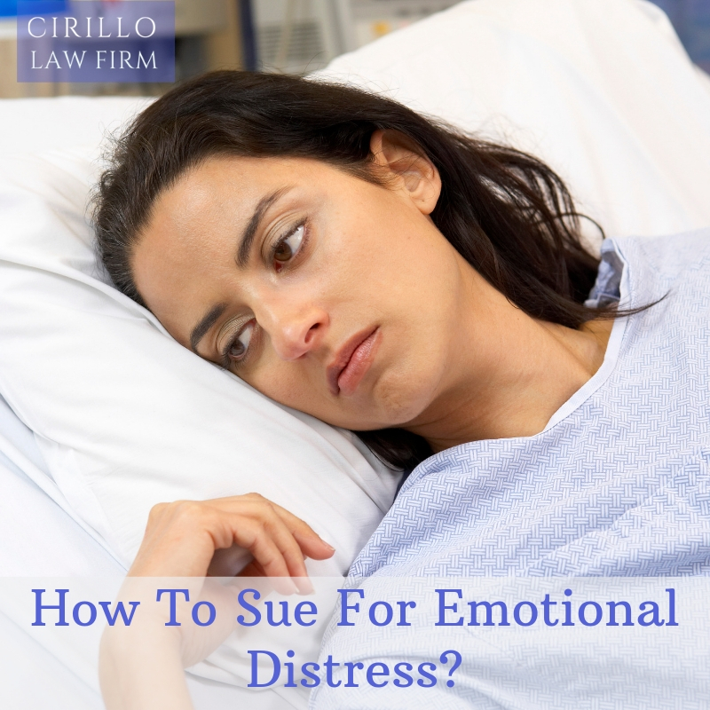 Everything you need to know about emotional distress and personal injury