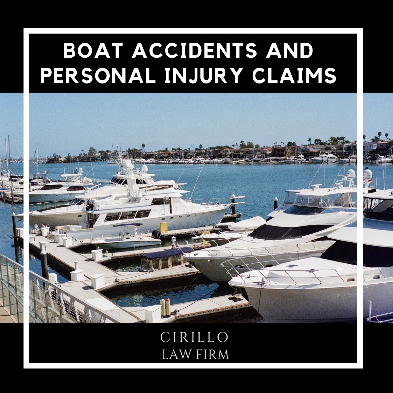 Causes of Boating Accidents and How Lawyers can help