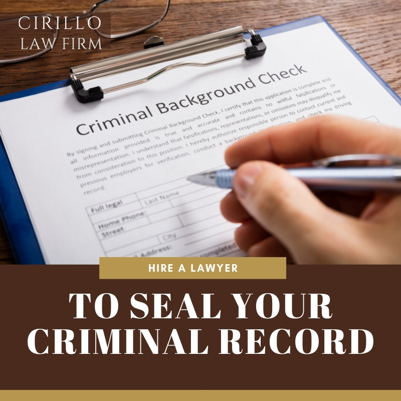 How To Seal Your Criminal Record