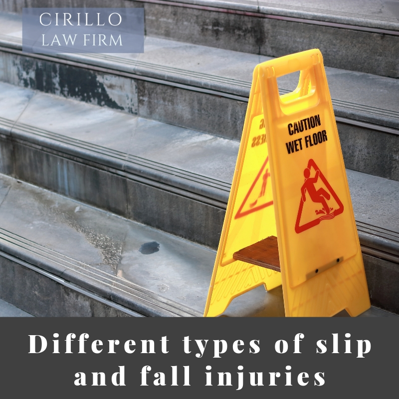 Injuries from Slip and Fall Accidents