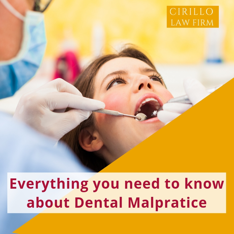 Everything you need to know about Dental malpractices