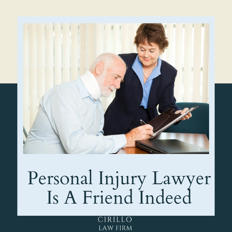 Personal Injury Lawyer Is A Friend Indeed
