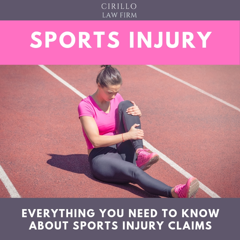 Everything you need to know about sport injury claims