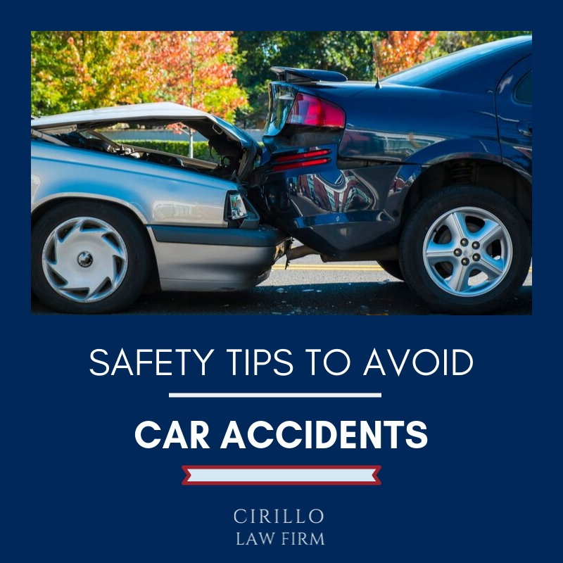 Safety tips to avoid car accidents