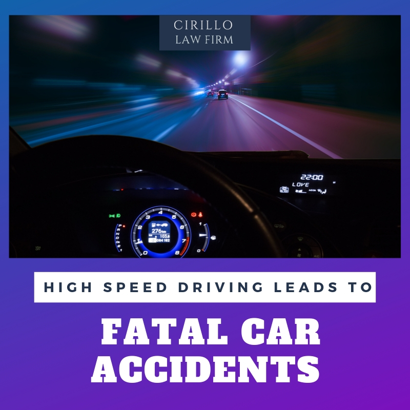 Speed Driving Leads To Fatal Car Accidents