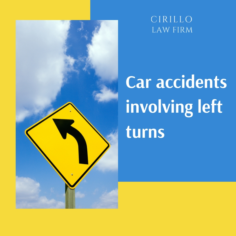 Is car making left turn always held legally responsible for the accident