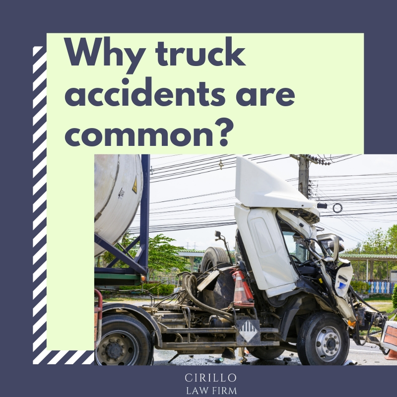 Truck Accident in CT is a common occurrence: Find out why