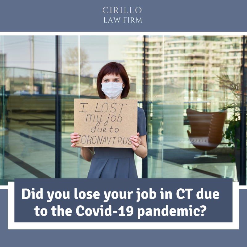 wrongful termination ct covid 19