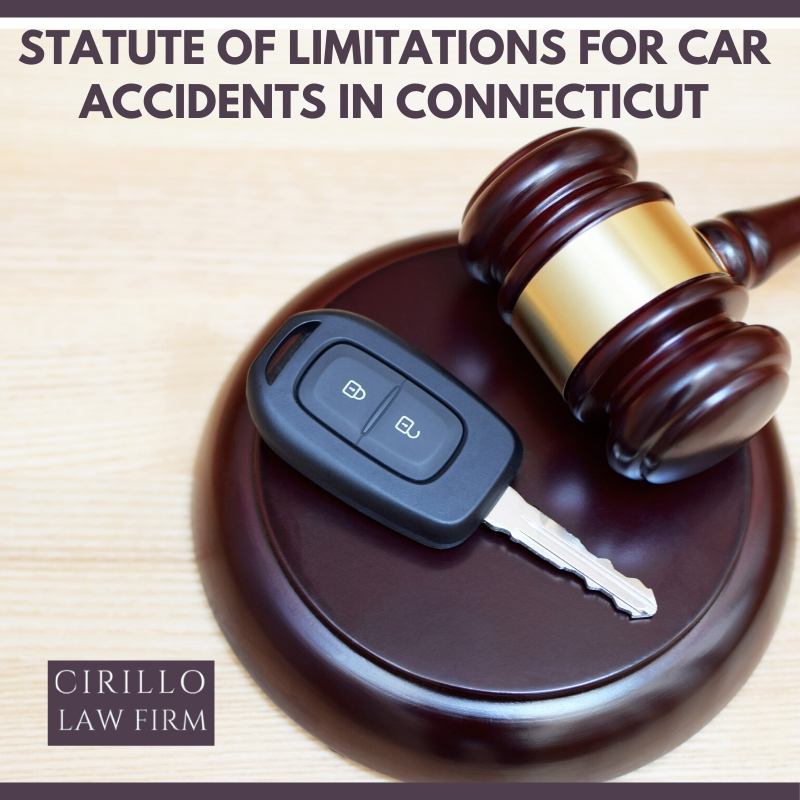 Statute of Limitations for Car Accidents in Connecticut